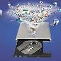 Diseño Super Delgado USB 3.0 de Aluminio de Aleación de Caja de DVD Externa de DVD Grabadora Escritor Quemador Externo de la Caja Del Ordenador