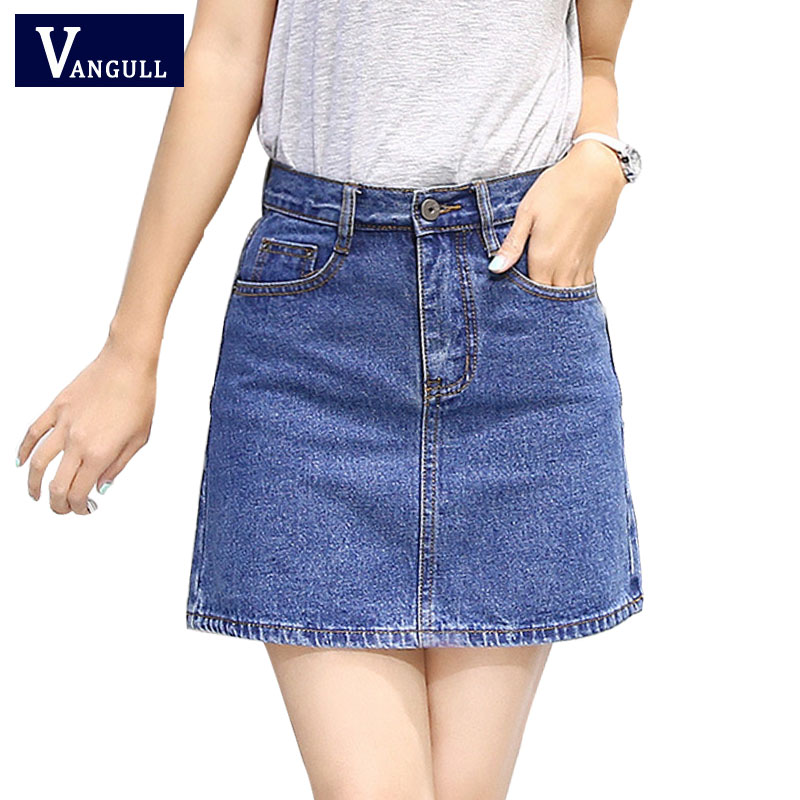 Jean Short Skirt Promotion-Shop for Promotional Jean Short Skirt ...