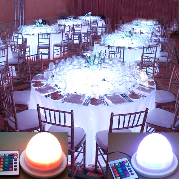 Free Shipping Super Bright Under Table Lighting For Weddings