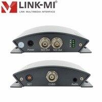 Link ми lm pcs01 Профессиональный CVBS/AV для 3G/HD/sd sdi конвертера с аудио видео до 1080 P 3G SDI кодер с dip переключателя