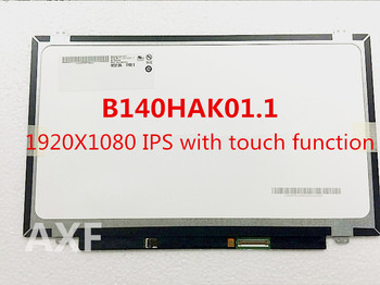 free shipping Original screen for  B140HAK01.1 14.0 FHD 1920X1080 TOUCH LED LCD SCREEN