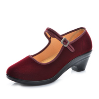 Black Mary Janes Women Flats Buckle Strap Comfortable Women Shoes Round Toe Solid Casual Shoes Size