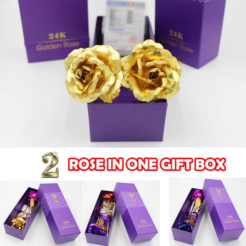В коробці 24k золота фольга покриттям - Святкові та вечірні предмети