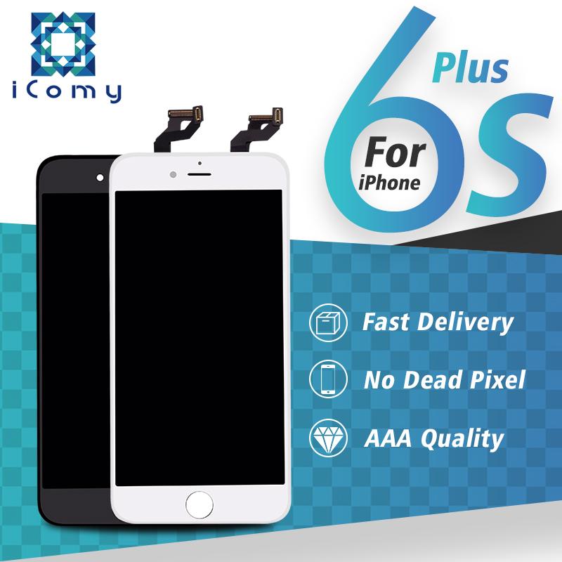 Prix pour 5 PCS Grade AAA 5.5 pouce tianma pour iphone 6 s plus écran lcd et digitizer assemblée aucun pixel mort Livraison gratuite