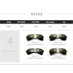 Image 5 - OCCHIALI DA SOLE VEITHDIA Con Il Caso Originale Occhiali Da Sole Polarizzati Uomini Del Progettista di Marca Occhiali Da Sole UV 400 Lenti gafas oculos de sol masculino 3152