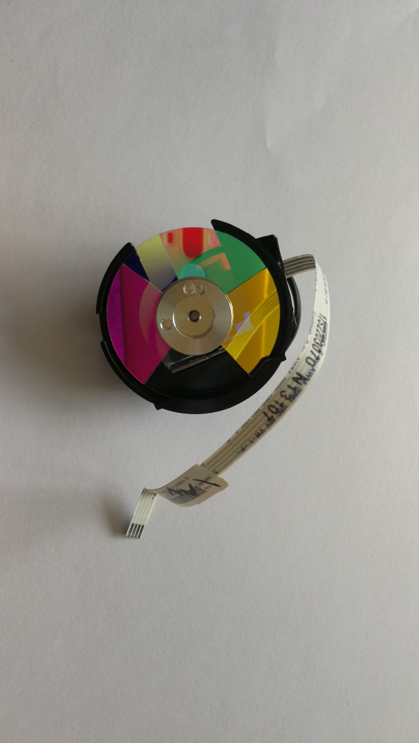 Original New For BENQ EP880 SP870 Projector Color WheelOriginal New For BENQ EP880 SP870 Projector Color Wheel