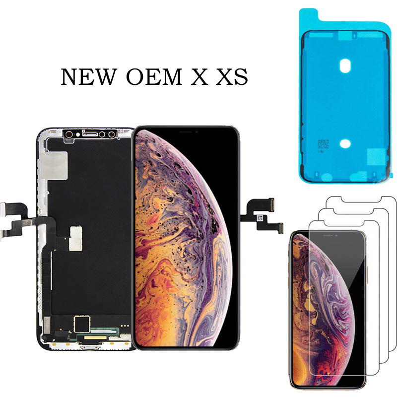 Grade Super Amoled Display Replacement For iPhone X XS 5.8 inch XS MAX XR LCD With 3D Touch Screen Display Digitizer AssemblyGrade Super Amoled Display Replacement For iPhone X XS 5.8 inch XS MAX XR LCD With 3D Touch Screen Display Digitizer Assembly