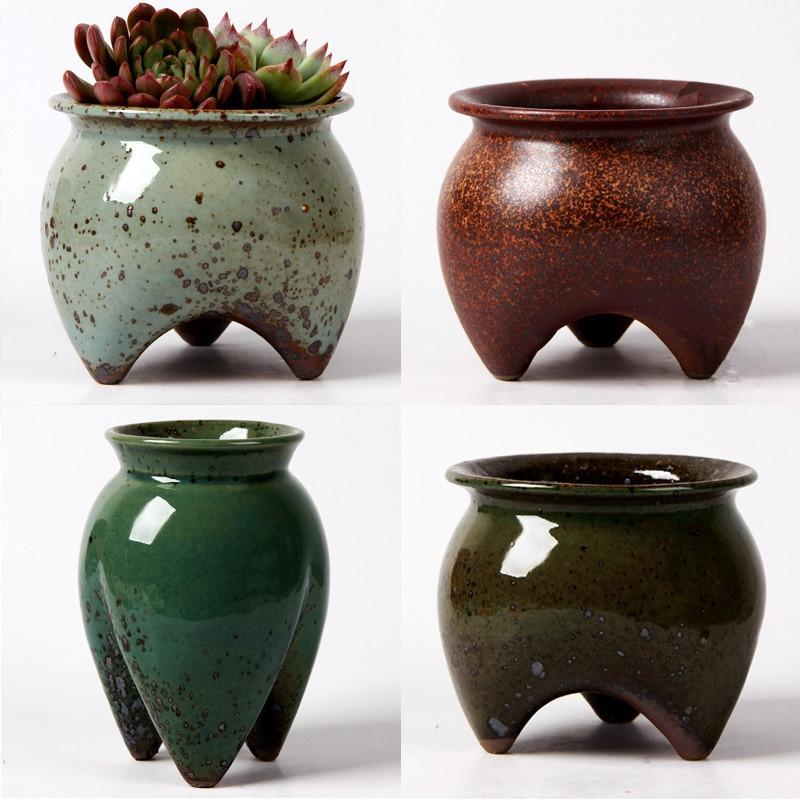 Ceramic Pots For Sale Part - 22: Ceramic Flower Pot Decoration Cute Decorative Big Size Pots For Sale  Succulent Home Decor Ceramic Pots