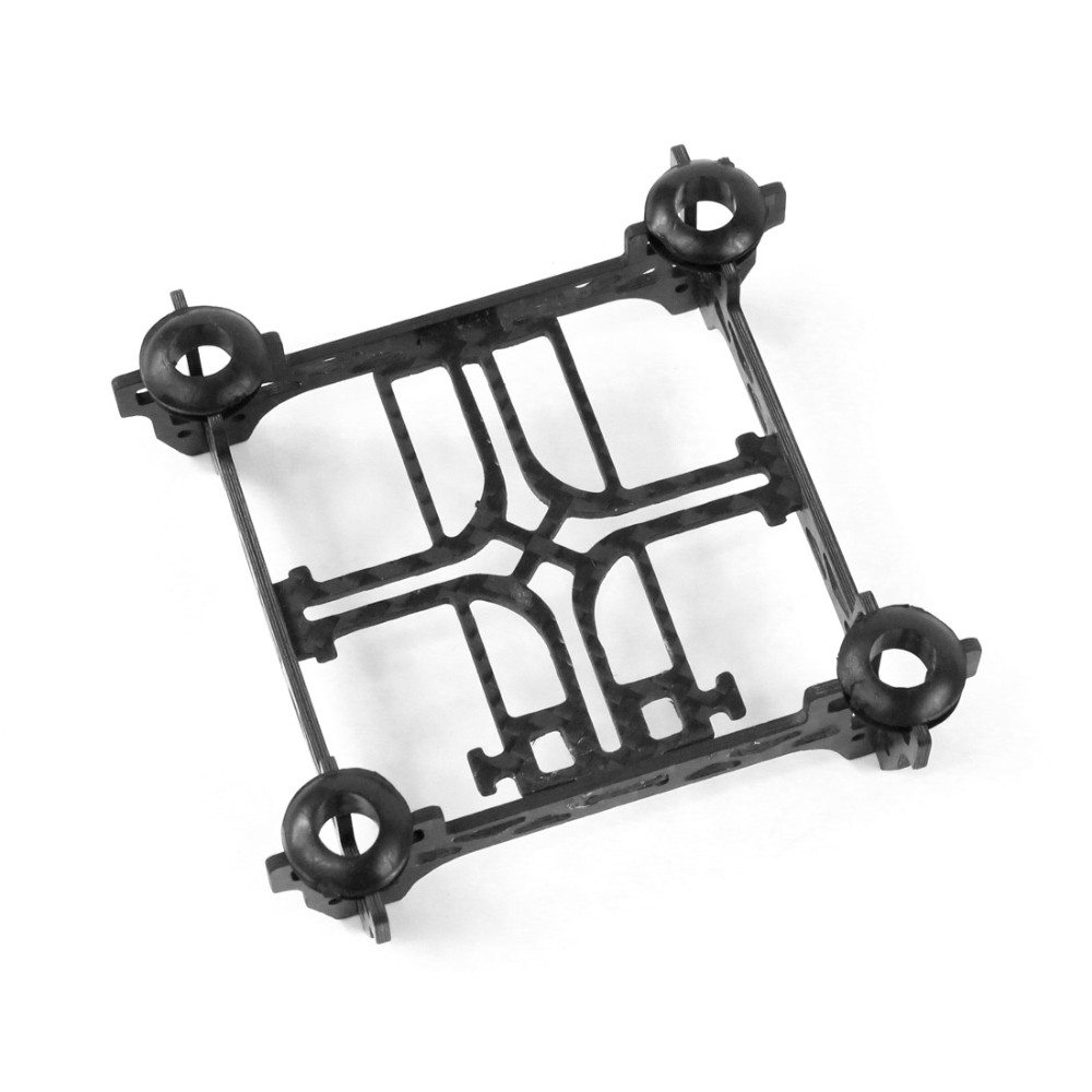 Super Light Tiny QX80 80mm Mini 4-Axle Carbon Fiber Frame with Motor Mount Protector for DIY Indoor FPV Quadcopter Brush F19032 super light tiny qx80 80mm mini 4 axle