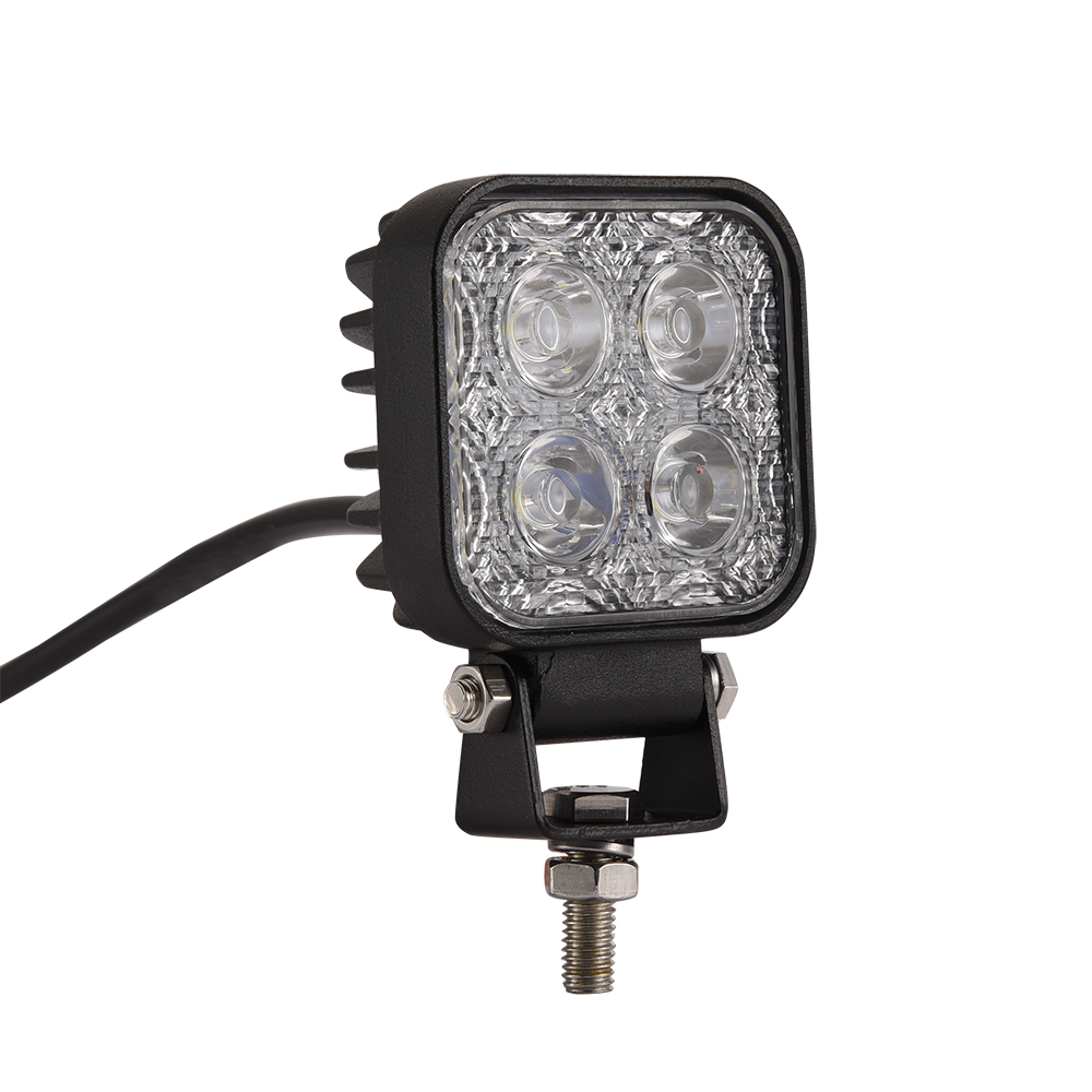 60 graden mini 12W 4 x 3W auto LED-lichtbalk als werklamp / - Autolichten - Foto 3