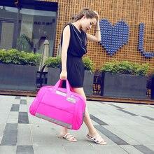2016 Women Travel Bags Solid Waterproof Handbag Ladies Large Capacity Travel Bag Bolsa Feminina Female Multifunctional Bags