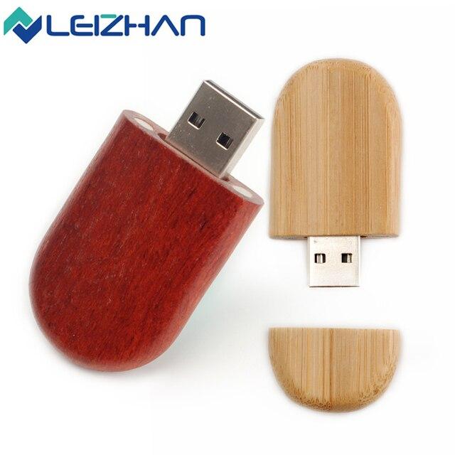 Customized wood USB flash drive
