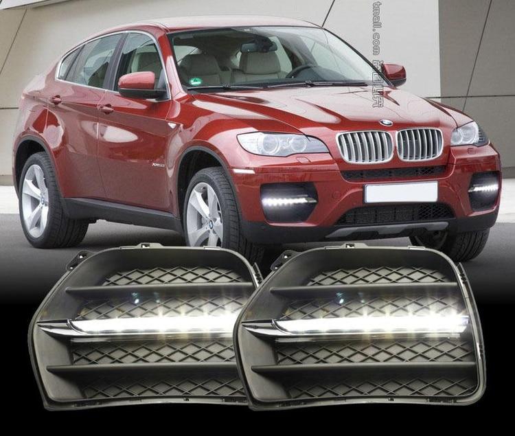 Car DRL Kit For BMW X6 E71 2010 2011 2012 LED Daytime