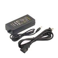 Низшая цена, адаптер переменного тока для 12 В, 5 А, 5,5 мм, 2,5 мм, 2,1 мм, светодиодный блок питания, зарядное устройство для светодиодной полосы, б...