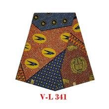 Хороший дизайн воск для батика голландский батик в африканском стиле блок Африканский Воск принты в ткани мягкие и дышащие особенности Птицы дизайн V-L 341