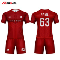 Personalized custom any logo football shirt maker sports uniforms soccer jersey for sale football shirt maker soccer jersey