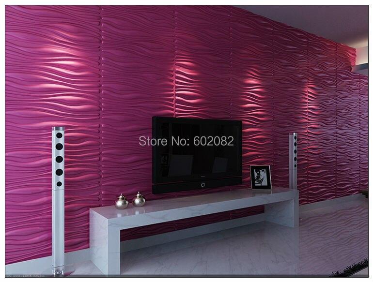 nuevo envo gratuito cuero de la pu panel de pared d d paneles saln tv dormitorio