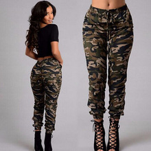 Camo Pants plus size 2019 NEW Women Fashion Camouflage Jogger Military Harem sweatpant Pant Casual