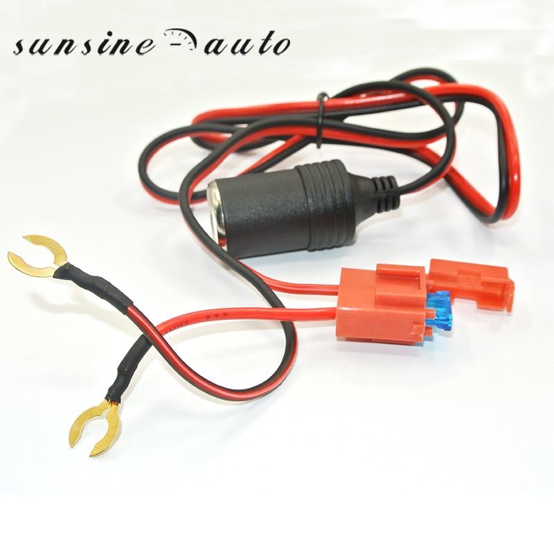 12 v Impermeabile Auto Moto Accendisigari Presa di Alimentazione Plug Adapter + Fuse holder