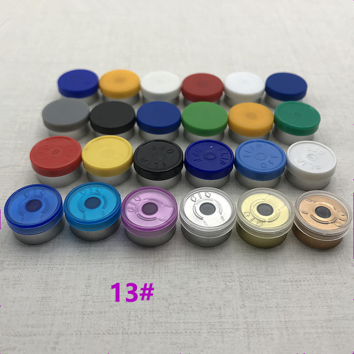 13mm Sealing Cover For Freeze-dried Powder Reagent Bottle,Aluminum Plastic Composite Cover