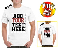 PERSONALISED CUSTOM PRINTED T-SHIRTS MENS WOMENS  TEE T SHIRT STAG HEN PARTY Stag Hen Do Party Any Occasion