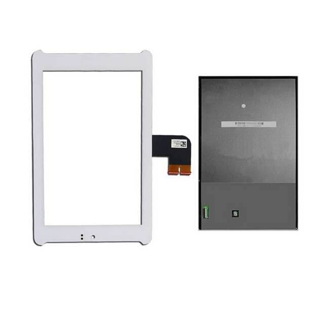 For ASUS Fonepad 7 LTE ME372CL K00Y Outer Touch Screen Digitizer Glass + LCD Display Replacement Parts White Tools