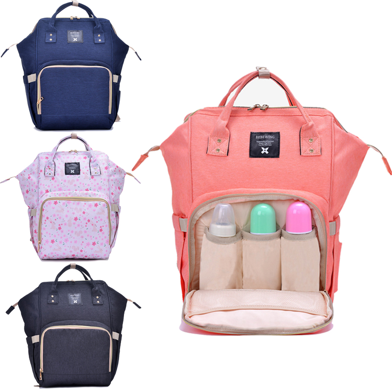 ace807a59e Mummy μωρό τσάντα Backpack Maternity Μεγάλη χωρητικότητα μωρό μωρό ...
