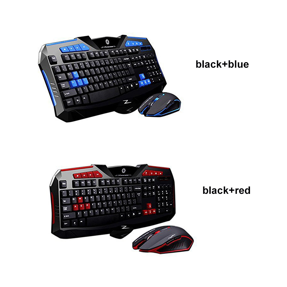Quiet Keyboards and Mouse Set Magnetion 2.4GHz Wireless Gaming Keyboard Mouse Combos with Round Keycaps for Women Girl Fashion Office Business Student and Game Player /& Office Worker