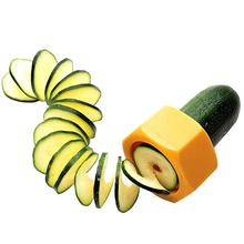 Spiral Cucumber Slicer Vegetable Fruit Salad Cutter for Cucumbers and Zucchini