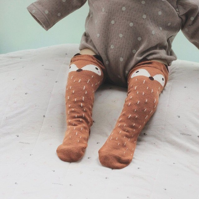 Soft Knee High Cotton Socks for the Infants & Toddlers | Fall Winter 2017 Collection