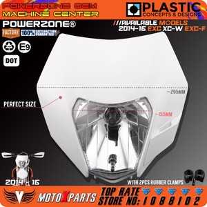 Image 2 - Powerzone Headlight Headlamp For KTM SX F EXC XCF SMR 2014 15 16 Motorcycle Dirt Bike MX Enduro Supermoto With H4 Bulb