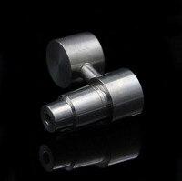 18.8mm & 14.4mm gr2 titanium prego para tubulações de água de fumar cachimbos de água de vidro universal plataformas de petróleo de tubos de vidro de vidro cachimbos de água