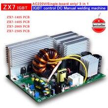 Монтажная плата ZX7 250 IGBT PCB одноплатная для IGBTdc инверторного сварщика AC220V вход r сварочная плата управления 3 в 1