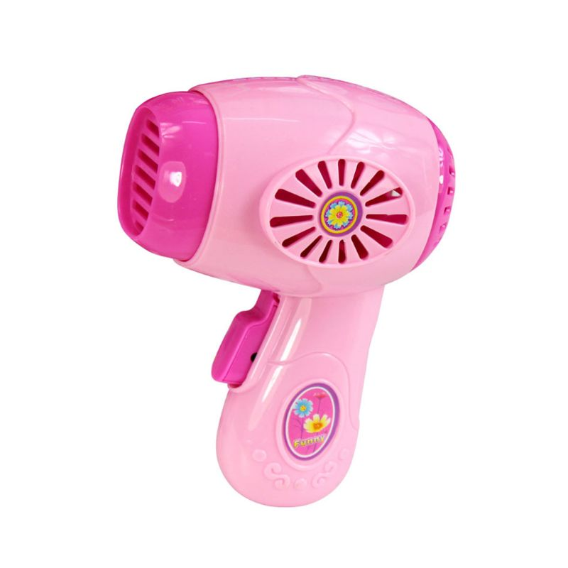 Children Kid Mini Kitchen Electrical Appliance Hair Dryer Toy Set Early Education Dummy Pretended Play Boy Girl Toys