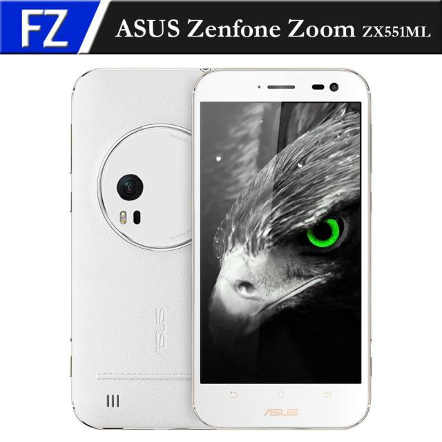 "Original ASUS Zenfone Zoom ZX551ML Atom Z3590 Quad-core 2.5GHz 5.5"" FHD 13MP 3x Optical-Zoom 4GB RAM 128GB ROM NFC Smartphone"