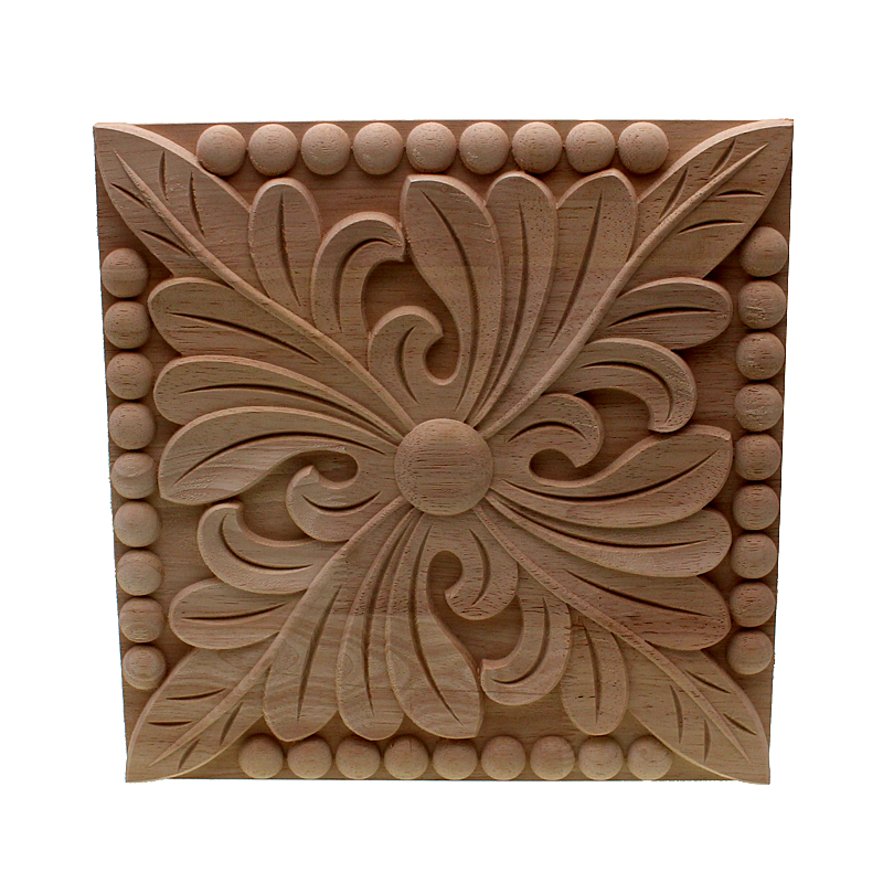 Vzlx Sale Rubber Wooden Carved Nook Onlay Applique Furnishings Classic Dwelling Ornament Equipment Door Decor Diy Picket Letters