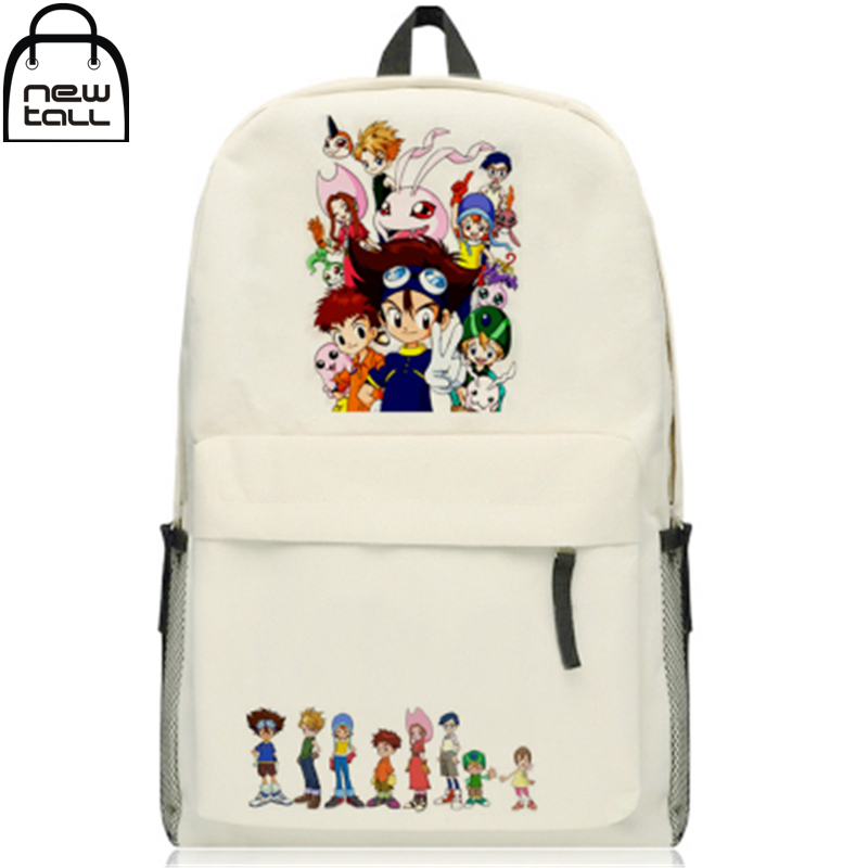 [NEWTALL] 2017 New Anime Digital Monster Digimon Adventure Characters Backpack School Shoulder Bag 16072940 hatem alhadainy oral health and heart