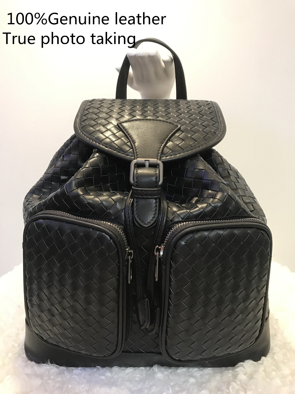 2019New pattern Genuine leather Sheepskin Men and women available High-capacity Woven bag Multi-function fashion 2019New pattern Genuine leather Sheepskin Men and women available High-capacity Woven bag Multi-function fashion