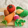 2016 Newborn Photography Props Bunny Crochet Knitting Carrot ,lemon,Corn Fruit Vegetables Newborn Outfits Simulation Accessories