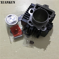 XUANKUN SJ110 E F Cylinder Assembly In The Repair Pad Piston Ring Valve Oil Seal