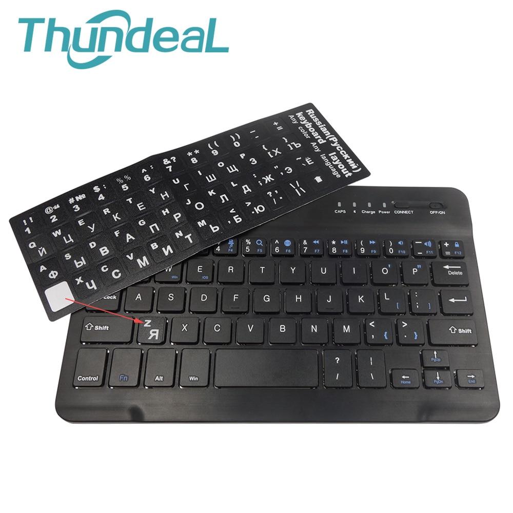 Waterproof Scrub Russian Keyboard Sticker Paster Tags