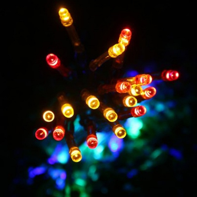 pretty nice 736c4 dd602 US $6.59 |YouOKLight 40LEDs 4M LED String Light Battery Powered String Lamp  Light LED Color RGB String Lighting For Holidays Christmas-in Lighting ...