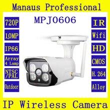 Motion Обнаружения 720 P Инфракрасные WI-FI Ip-камер Высокое Качество IP66 Открытый Крытый Мобильный Пульт Дистанционного Наблюдения Камеры Безопасности J606b