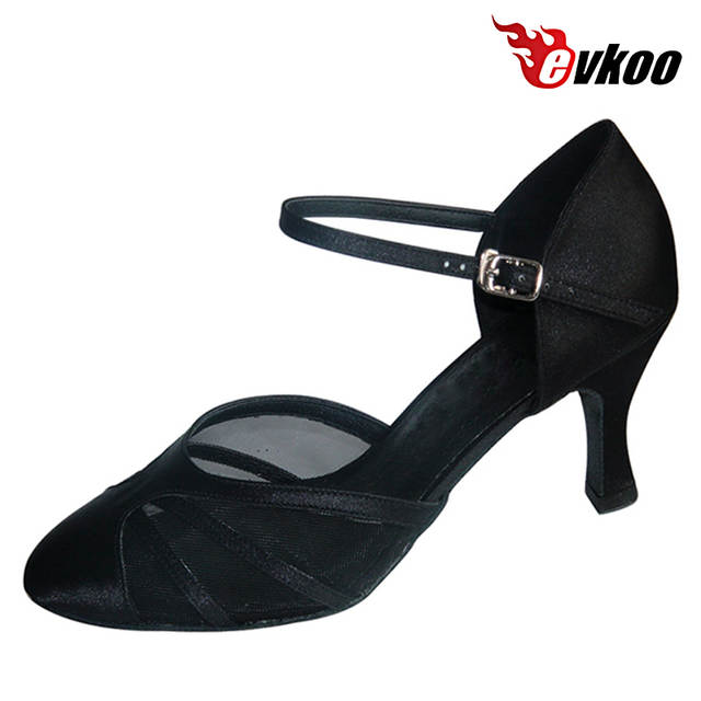 lace up in speical offer sports shoes Online Shop Evkoodance Comfort Ballroom Dance Shoes High Heel 7cm ...