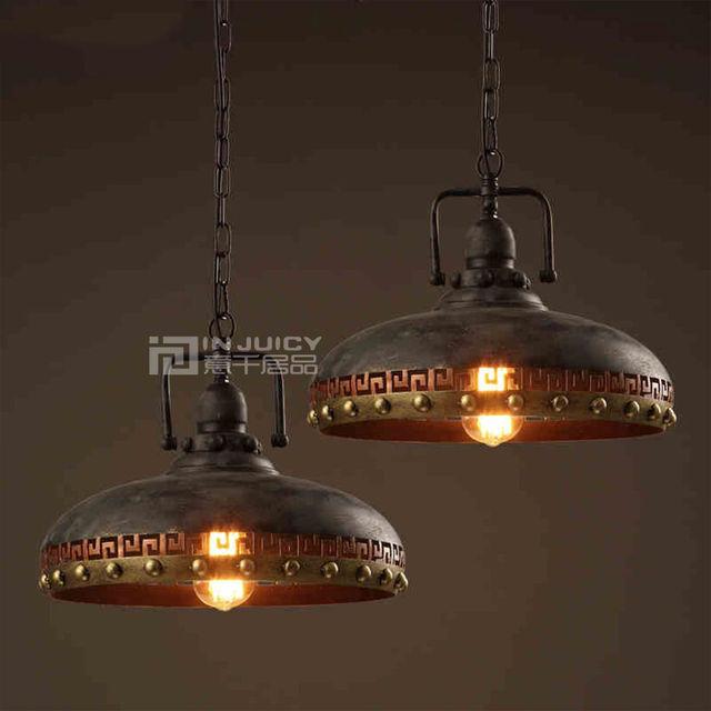 Industrial Led Light Bar: Vintage Edison Industrial LED Iron Rivet Loft Corridor
