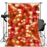 MEHOFOTO Red Shimmer New Fabric Flannel Photography Background For Wedding Light Vinyl Backdrop For Children Photo Studio F545