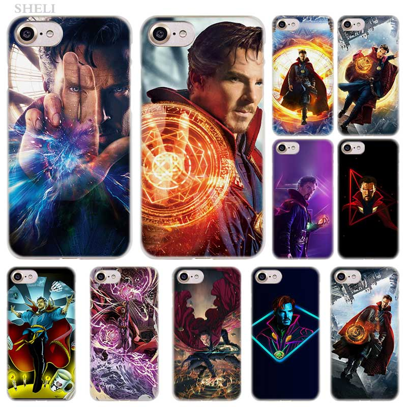 Phone Bags & Cases Imido Marvel Superhero Doctor Strange Rocket Black Widow Case Soft Silicone Phone Case For Iphone 7 8 7plus 8plus X Xs Xr Xsmax Fashionable Patterns Half-wrapped Case