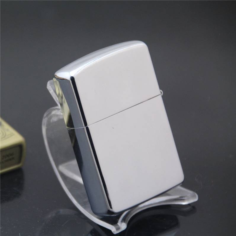 Special mirror plate bright chrome kerosene lighter lighters in advertising preferred,cigarette lighter, Metal lighters