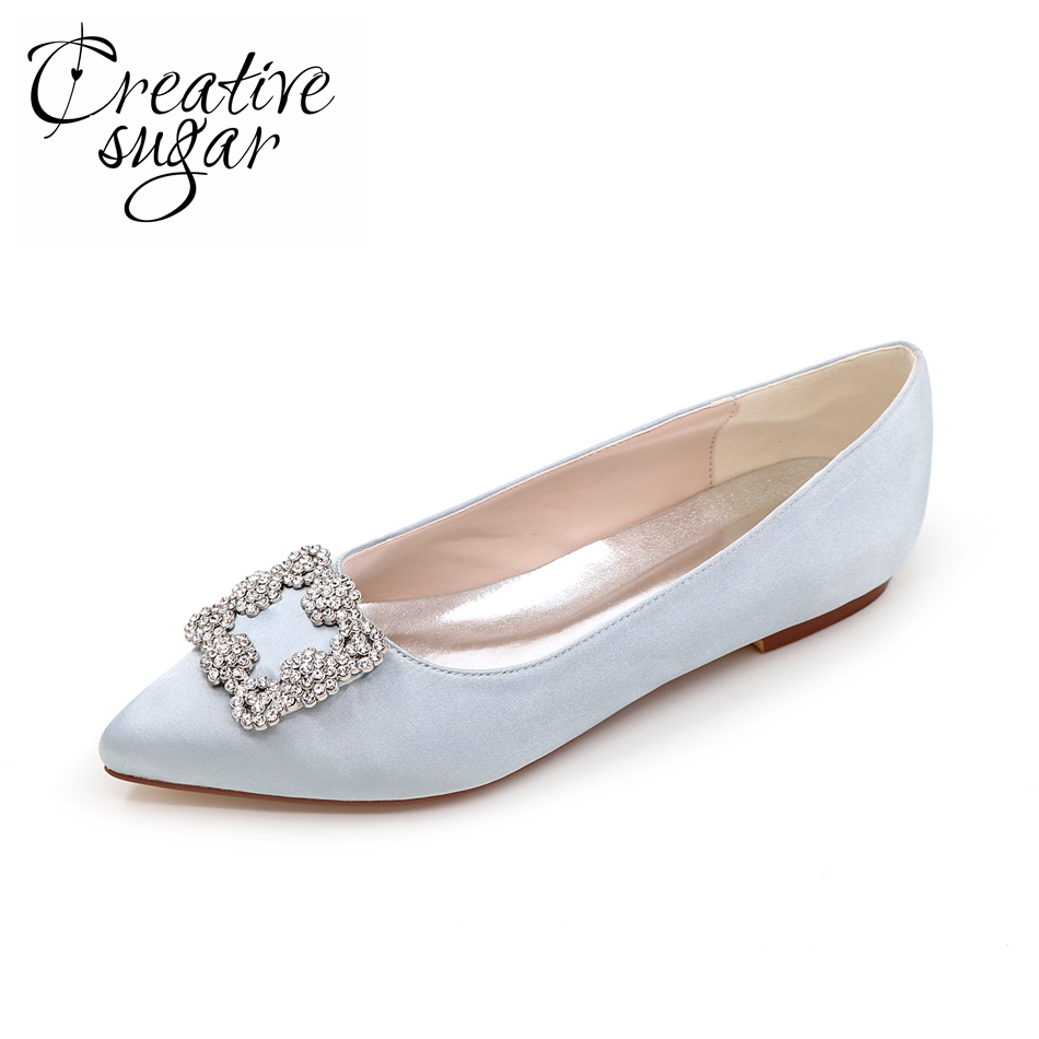 2016 Beatiful Flat Heel White Pearl Wedding Shoes Comfortable ...