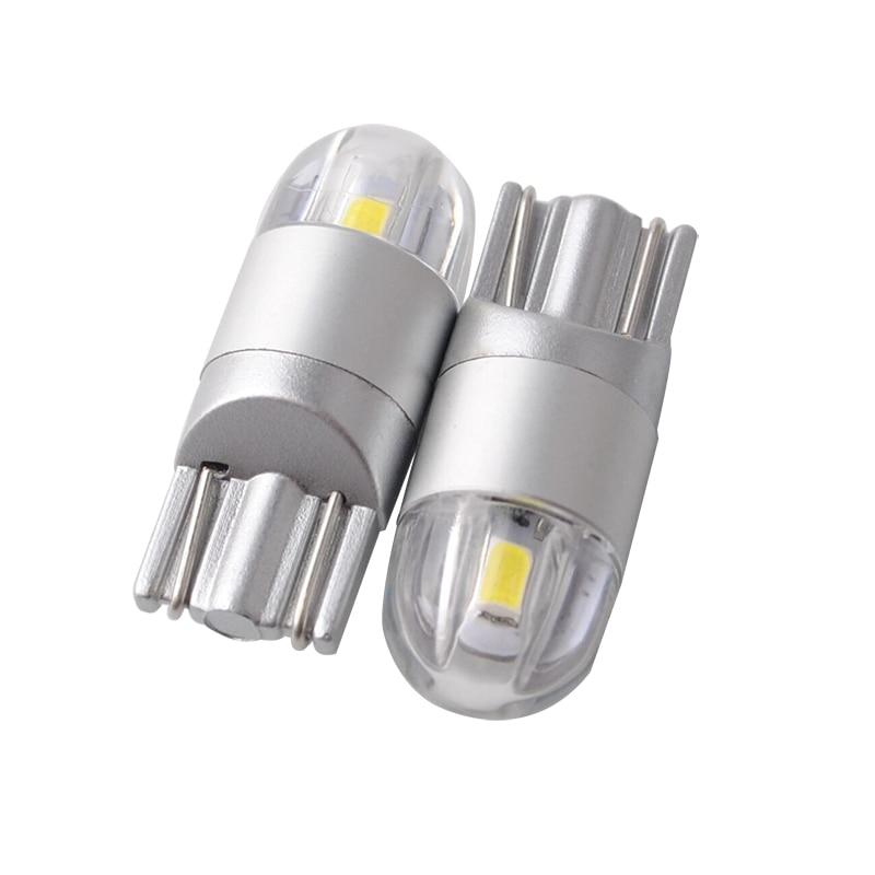 자동차 스타일링 W5W LED T10 3030 2SMD 자동 램프 168 194 - 자동차 조명 - 사진 1